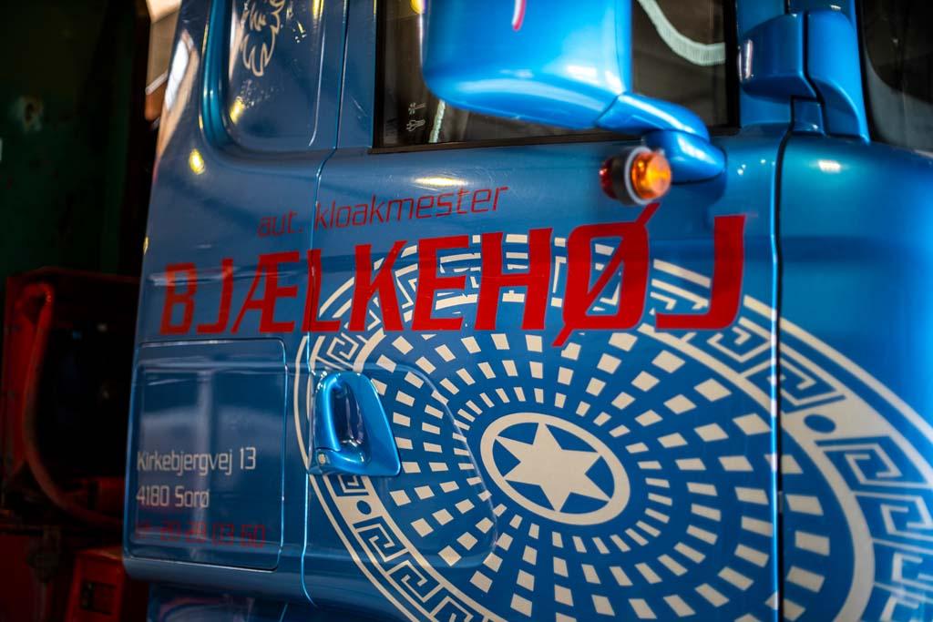 Bjælkehøj Entreprenøren lastvogn
