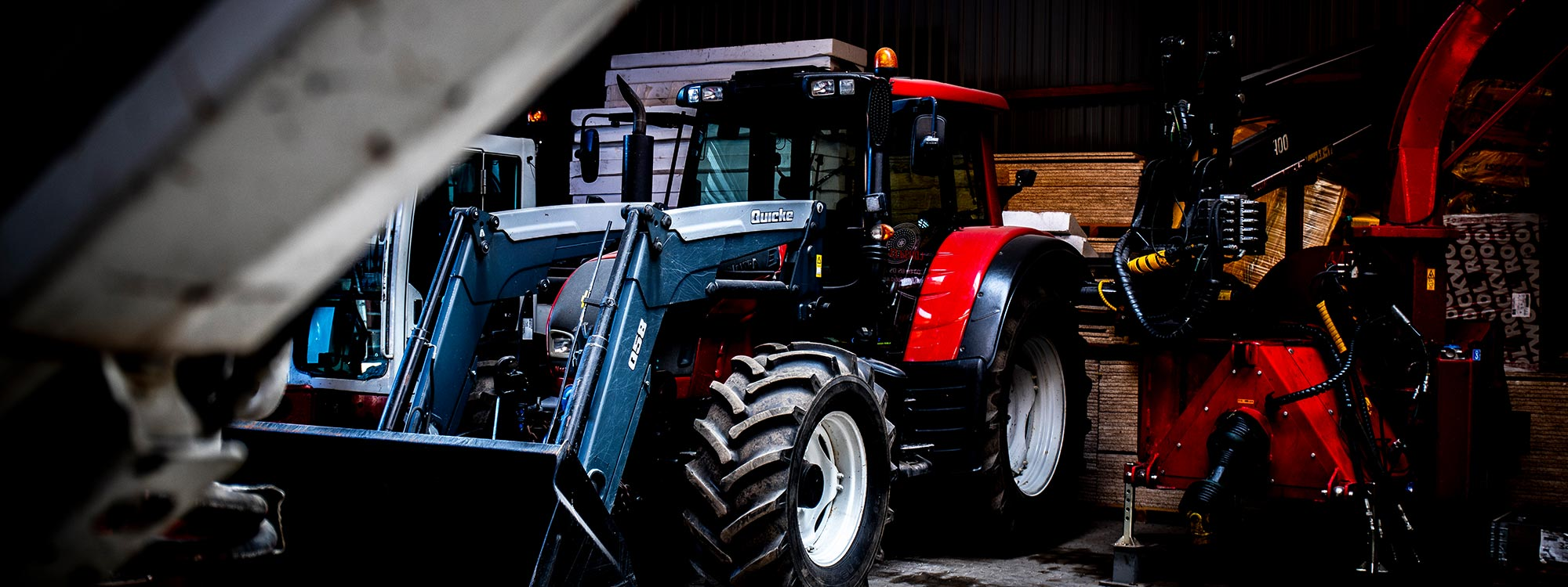 Traktor til udlejning