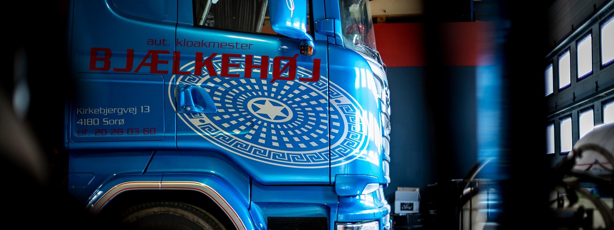 Lastvogn fra Bjælkehøj Entreprenøren